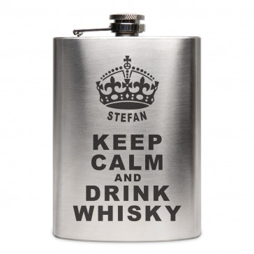 Flachmann 237 ml - Keep Calm