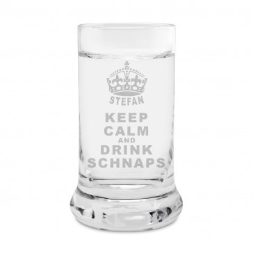 Leonardo Schnapsglas - Keep Calm