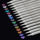 Metallic Marker Stifte 15 Farben Set 1mm