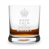 Leonardo Whiskyglas - Keep Calm
