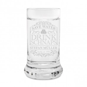 Leonardo Schnapsglas - Save Water Drink
